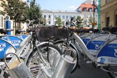 Wypożyczonym rowerem po Warszawie