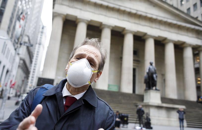 Wyprzedaż na Wall Street. To była najgorsza sesja od krachu w 1987 roku /EPA