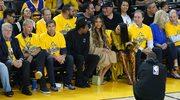 Wyraz twarzy Beyonce z meczu NBA hitem sieci