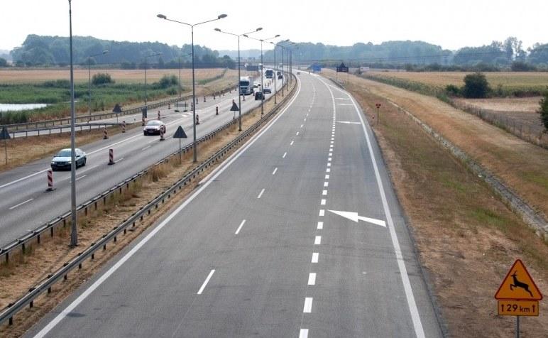 Wyremontowany fragmen autostrady A4 ma 30 km długości /