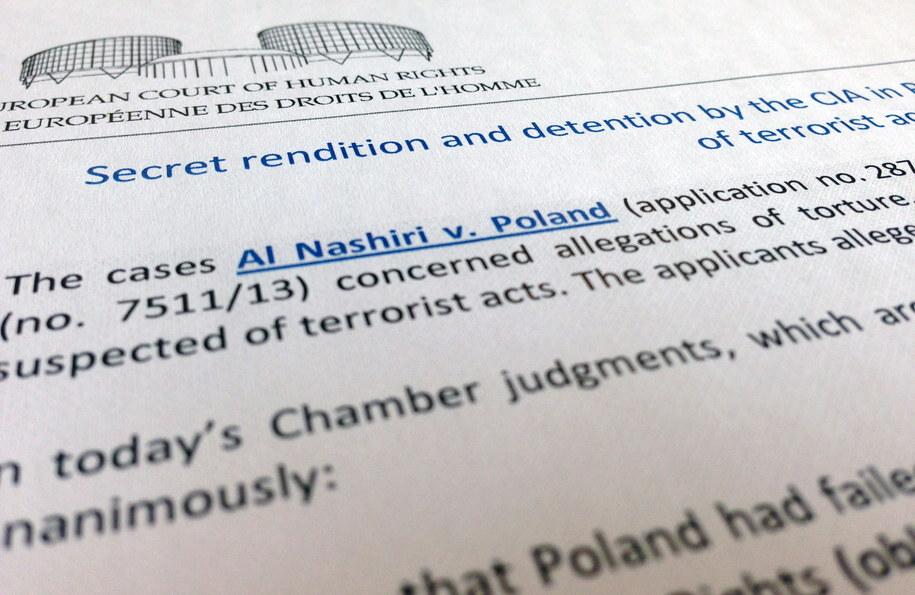 Wyrok Europejskiego Trybunału Praw Człowieka /Maciej Chmiel /PAP