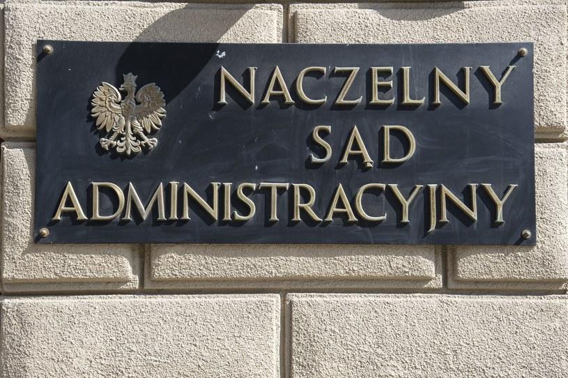 Wyrok Naczelny Sąd Administracyjny jest prawomocny /Wojciech Stróżyk /Reporter
