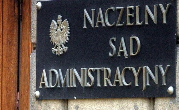 Wyrok NSA jest prawomocny. Fot. Darek Redos /Reporter