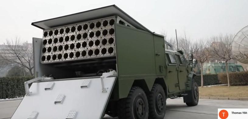 Wyrzutnia dronów chińskiego wojska /YouTube