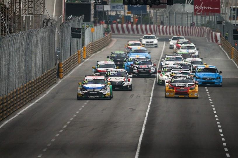 Wyścig na torze w Makau /Eurosport
