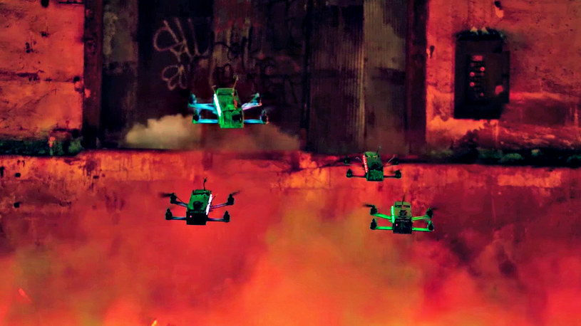 Wyścigi dronów - najbardziej ekscytujący sport XXI w.? /materiały prasowe