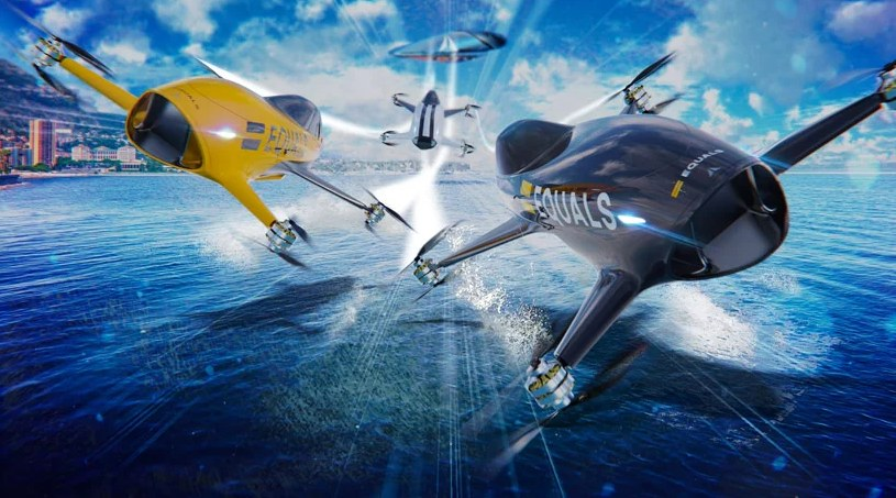 Wyścigi pojazdów takich jak Airspeeder Mark 1? To ma sens /materiały prasowe