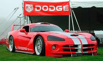 Wyścigowy Viper Coupe /INTERIA.PL