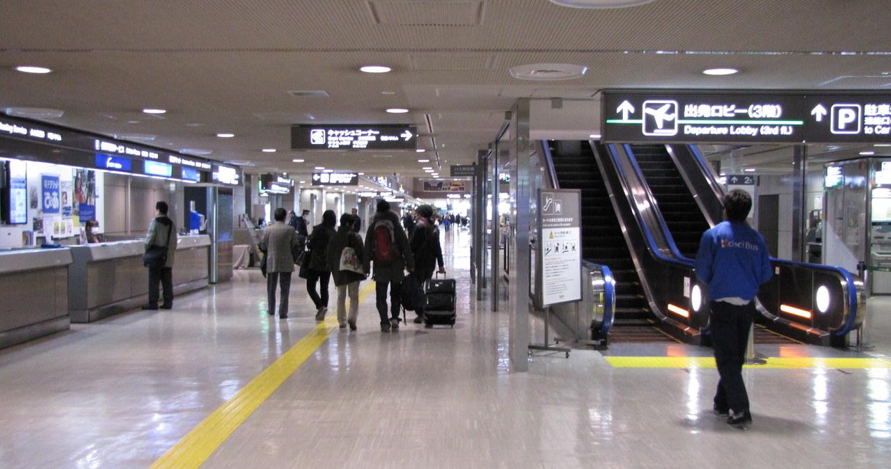Wysłannik RMF FM do Japonii: Na lotnisku w Tokio spokojnie