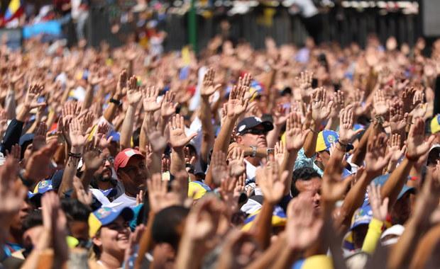 Wysłannik RMF FM do Wenezueli: Mobilizacja mieszkańców Caracas robi wrażenie