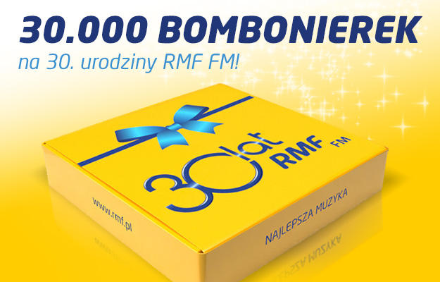 Wyślij życzenia i odbierz bombonierkę /RMF FM