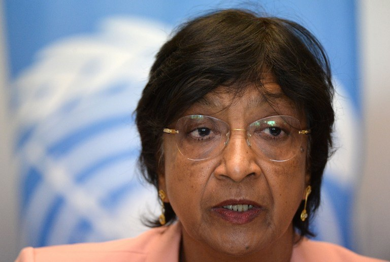 Wysoka komisarz ONZ ds. praw człowieka Navi Pillay /AFP