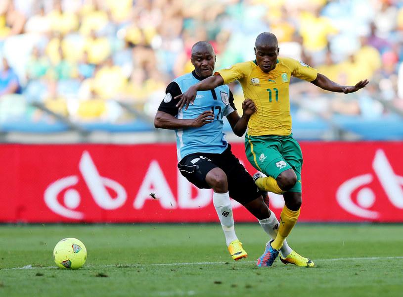 Wysoka wygrana z Botswaną nie pomogła piłkarzom RPA /AFP