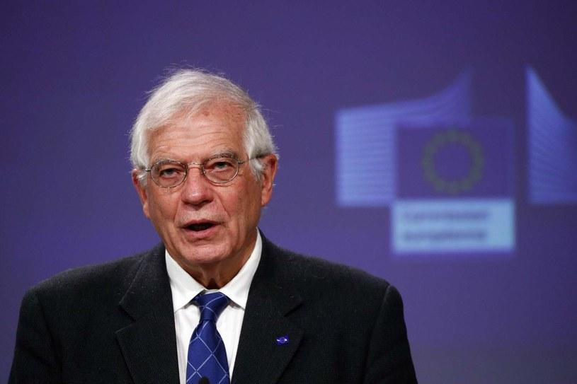 Wysoki przedstawiciel UE do spraw zagranicznych i polityki bezpieczeństwa Josep Borrell /FRANCOIS LENOIR /AFP
