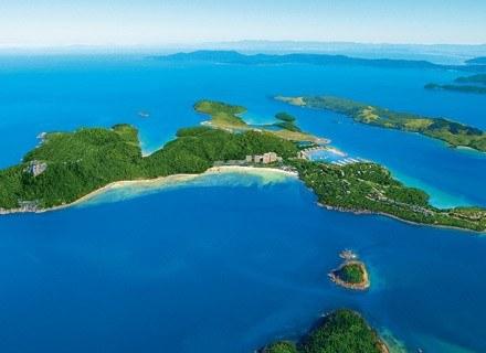 Wyspa Hamiltona z lotu ptaka. Fot.: hamiltonisland.com.au /Internet