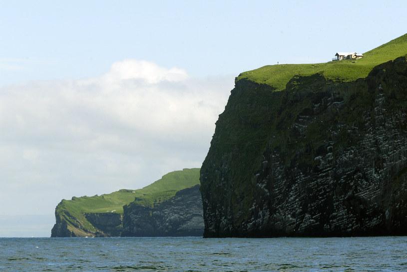 Wyspa Heimaey - to do jej brzegów dotarł Fridthorsson. /AFP