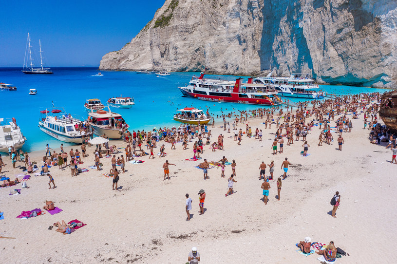 Wyspa Zakynthos to jeden z najpopularniejszych kierunków na urlop w Grecji /Picsel /123RF/PICSEL