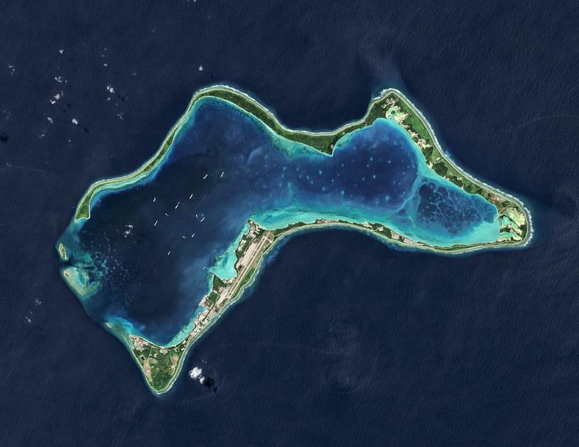 Wyspy Czagos na Oceanie Indyjskim /USGS/NASA Landsat data/Orbital Horizon Gallo Images /Getty Images