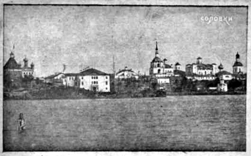 Wyspy Sołowieckie na Morzu Białym były miejscem zsyłania więźniów jeszcze za czasów carskich. Jednak dopiero system stalinowski doprowadził tu do powstania prawdziwego przemysłu śmierci /domena publiczna
