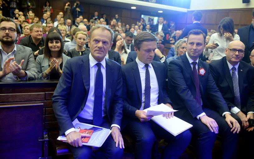 Wystąpienie Jażdżewskiego poprzedziło wykład Donalda Tuska na UW /Jan Bielecki /East News