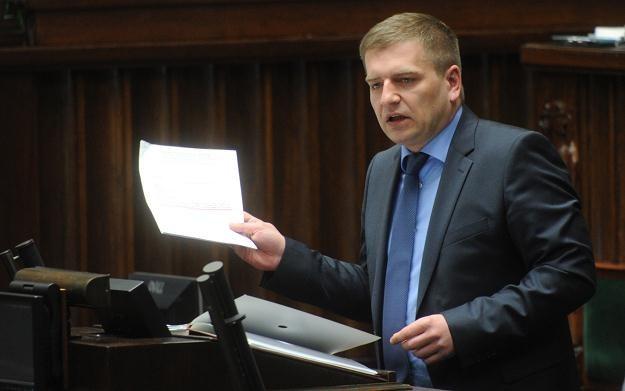 Wystąpienie ministra zdrowia Bartosza Arłukowicza w Sejmie, fot. G. Jakubowski /PAP