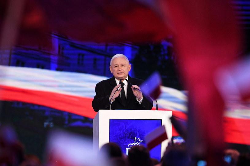 Speech by the President of Justice and Justice Jarosław Kaczyński during the election congress PiS / Bartłomiej Zborowski / PAP