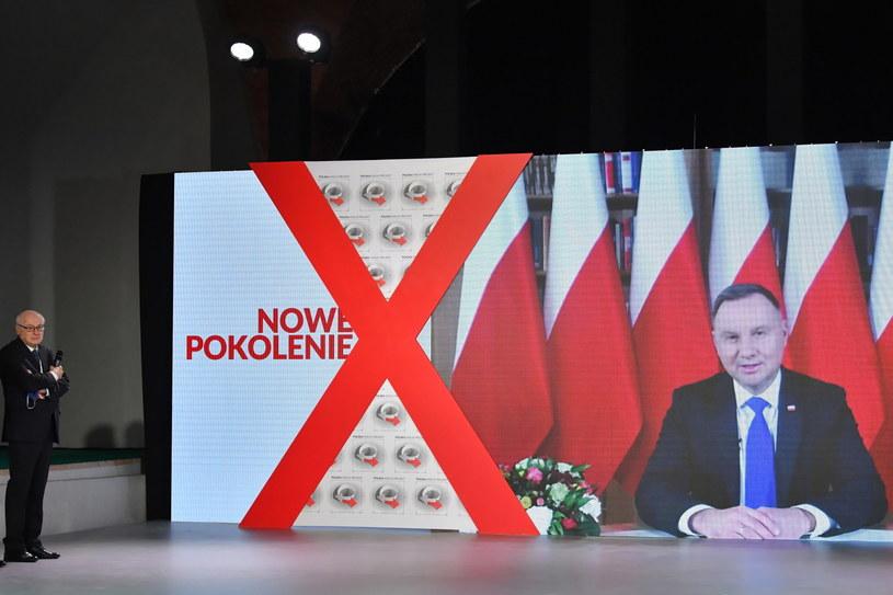 Wystąpienie prezydenta podczas Kongresu Polska Wielki Projekt / Radek Pietruszka   /PAP
