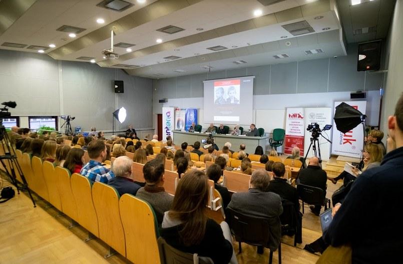 Wystąpienie świadków historii na konferencji /Paweł Krawczyk /INTERIA.PL