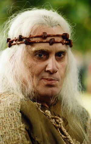 """Wystąpił też w jednym odcinku serialu """"Wiedźmin"""" w roli Filavandrela, króla elfów. /fot  /AKPA"""