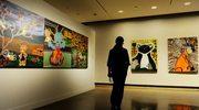 Wystawa abstrakcji w muzeum w Gdańsku