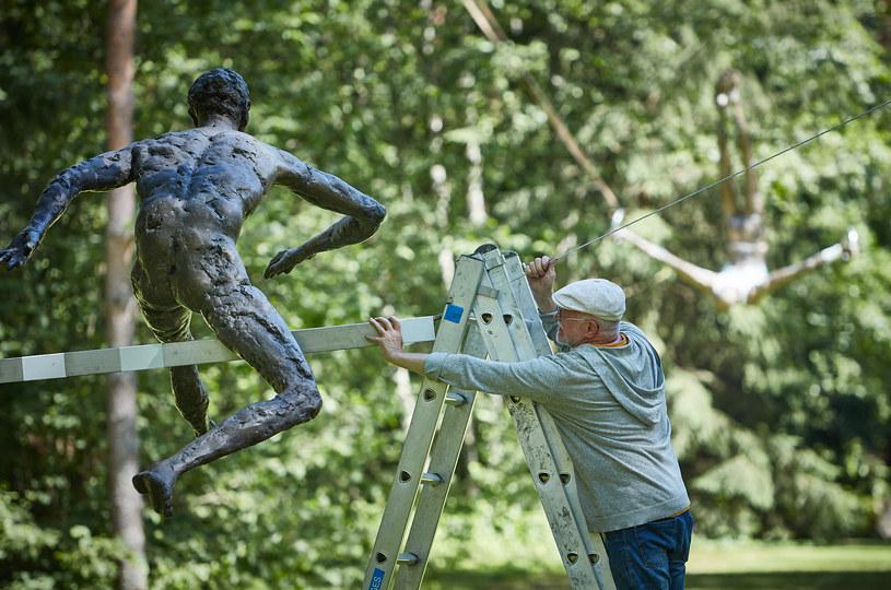 Wystawa Balans w koronach drzew - Europos Parkas, Wilno, 2020-2021. Fot. B. K ę dziora/Fundacja  Art&Balance /