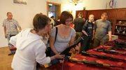 Wystawa broni na parafiadzie