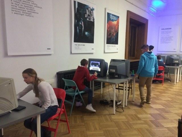 """Wystawa """"Digital Dreamers"""" w Muzeum Techniki i Przemysłu w Warszawie /Michał Dobrołowicz /RMF FM"""