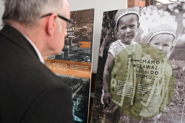 Wystawa Instytutu Pamięci Narodowej na temat Zbrodni Wołyńskiej w Toruniu /Tytus Żmijewski /PAP