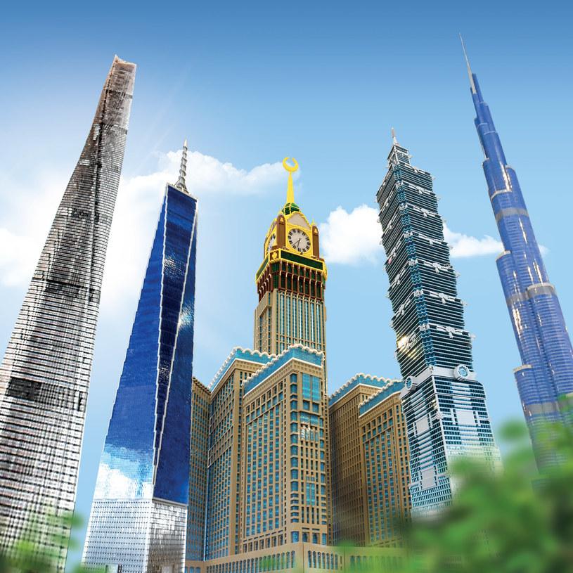 Wystawa najwyższych budynków świata w LEGOLANDZIE /materiały prasowe