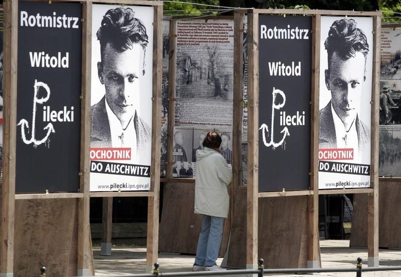 Wystawa poświęcona pamięci rotmistrza Witolda Pileckiego /Damian Ruciński /Reporter