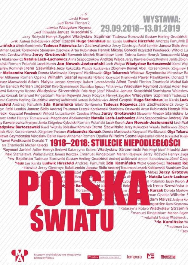 """Wystawę """"1918–2018: stulecie niepodległości. Polska – światu"""" można oglądać w Muzeum Architektury we Wrocławiu /materiały prasowe"""