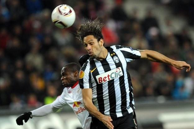 Występ Amauriego w meczu z Lechem stoi pod znakiem zapytania /AFP