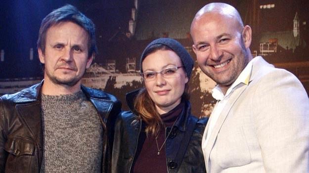"""Występują w """"Histeriach miłosnych"""": Barłomiej Topa, Magdalena Boczarska i Szymon Bobrowski /AKPA"""