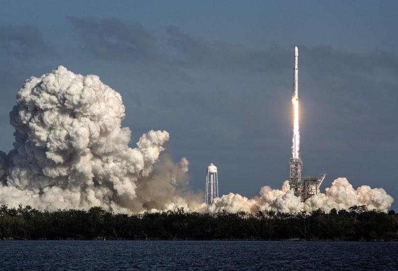 Wystrzelenie rakiety Falcon Heavy /CRISTOBAL HERRERA /PAP/EPA