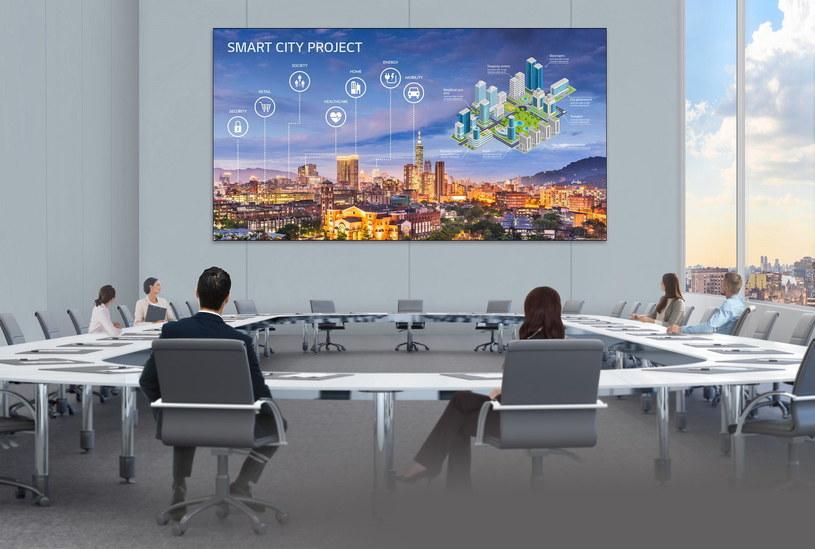 Wyświetlacz LG LED Signage (model LSAA) /materiały prasowe