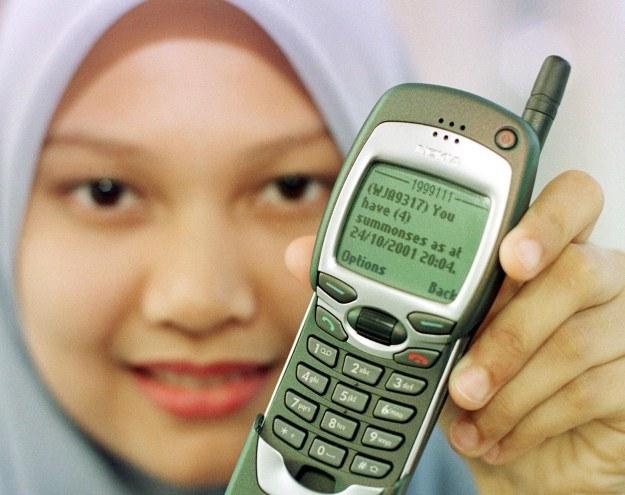 Wysyłamy ponad 200 tysięcy SMS-ów na sekundę /AFP