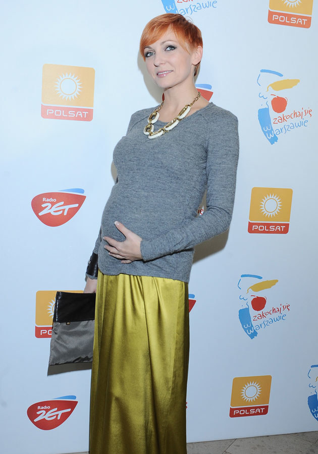 Wyszkoni zostanie mamą już w lutym, ale wcale nie zamierza zwalniać tempa.  /Andras Szilagyi /MWMedia