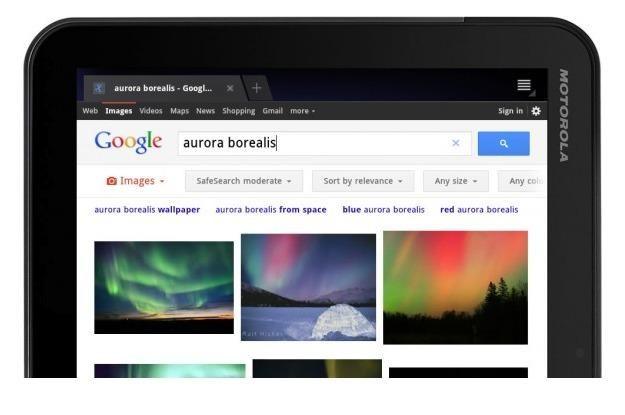 Wyszukiwarka Google w wersji tabletowej /tabletowo.pl