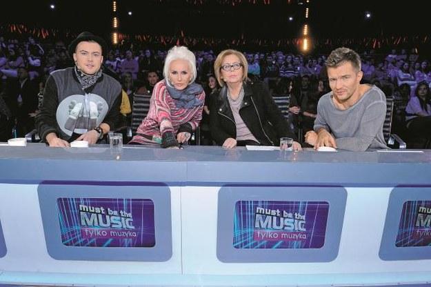 Wytrawni jurorzy czyli: Łozo, Kora,  Elżbieta Zapendowska i Adam Sztaba. /Mat. Prasowe