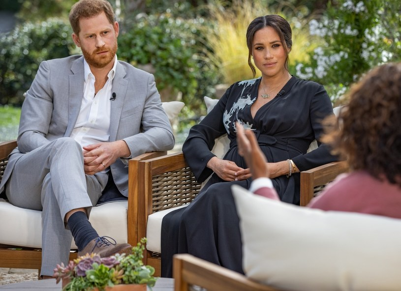 Wywiad Harry'ego i Meghan u Oprah nominowany do nagród Emmy! /Handout / Handout /Getty Images