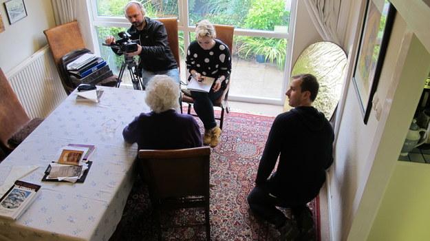 Wywiad z Aleksandrą Rymaszewską - świadkiem historii. Manchester, Wielka Brytania (2013 r.) /Centrum Dokumentacji Zsyłek, Wypędzeń i Przesiedleń Uniwersytetu Pedagogicznego /