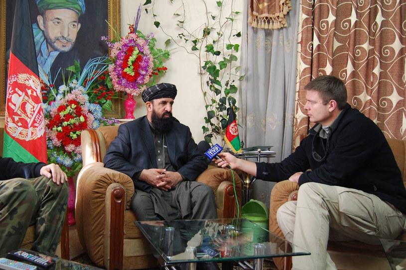 Wywiad z gubernatorem afgańskiej prowincji Ghazni. / fot. Archiwum Rafała Stańczyka /Styl.pl