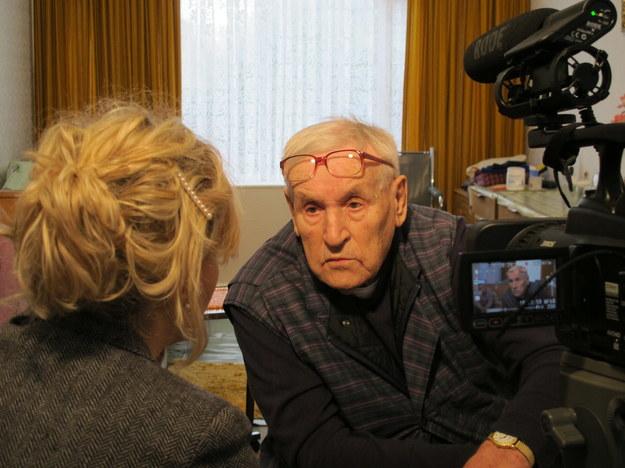 Wywiad z Janem Burtnym. Coventry, Wielka Brytania (2014 r.) /Centrum Dokumentacji Zsyłek, Wypędzeń i Przesiedleń Uniwersytetu Pedagogicznego /