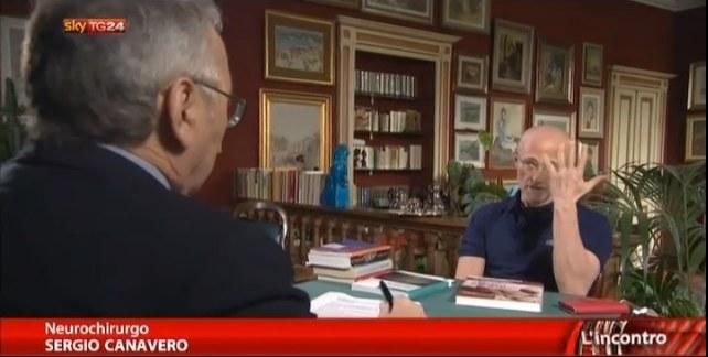 Wywiad z neurochirurgiem Sergio Canavero /materiały źródłowe